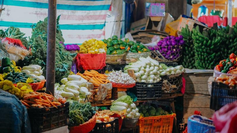 marché de légumes pour la forme
